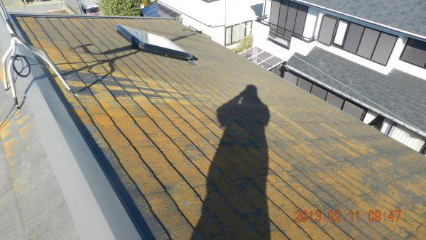 屋根外壁の傷み具合