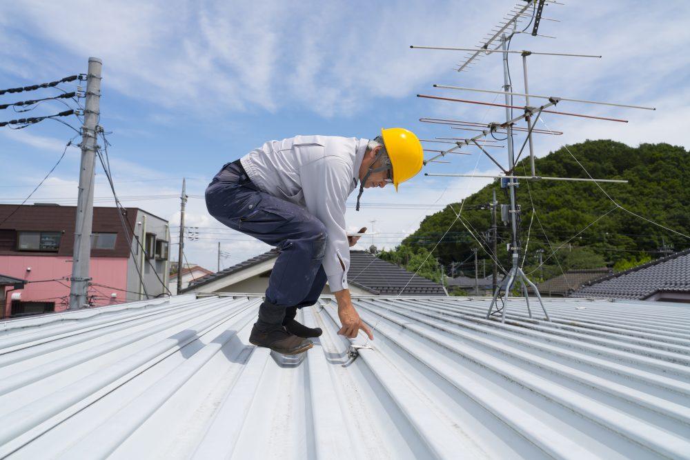 店舗の屋根外壁塗装工事