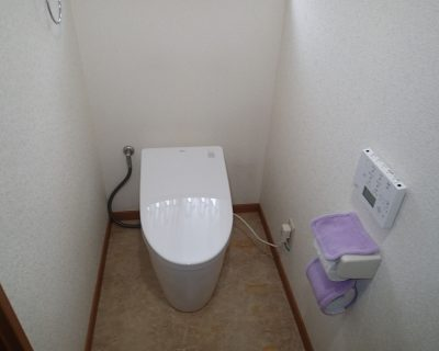 トイレを交換したい<木更津市リピーター様 トイレ交換工事>サムネイル