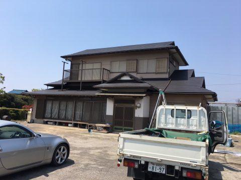 木更津市中島K様邸 。屋根瓦吹き替え工事サムネイル