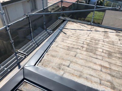 袖ヶ浦市神納S様邸。台風被害修繕工事屋根棟板金交換サムネイル