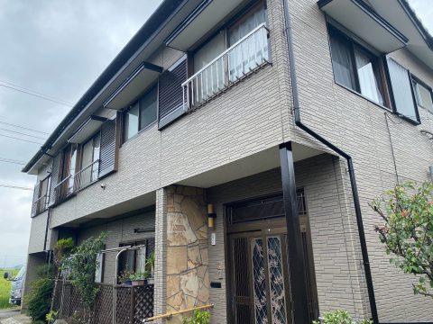 袖ヶ浦市横田H様邸。木鉄部塗装、下屋根塗装サムネイル