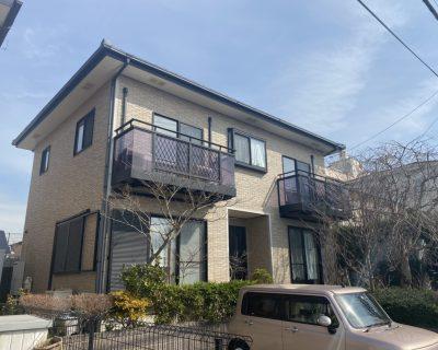 袖ヶ浦市福王台Y様邸。軒天重ね貼り、シール打ち替えサムネイル